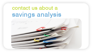 contact us about a savings analysis